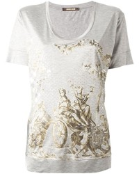 Roberto Cavalli Loose Fit Print T Shirt