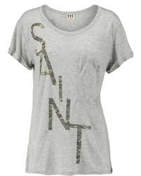 Haute Hippie Sinnersaint Printed Modal Jersey T Shirt