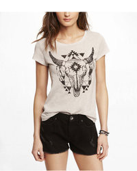 Express Slub Graphic Tee Longhorn