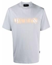 Philipp Plein Spray Effect Logo T Shirt