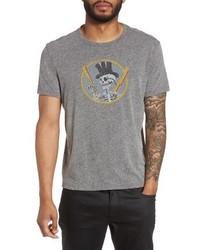 John Varvatos Star Usa Top Hat Skull Graphic T Shirt