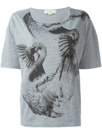 Stella McCartney Swan Print T Shirt