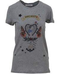 Valentino Tattoo Print T Shirt