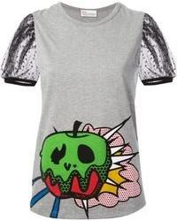 Valentino Graphic Print T Shirt