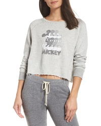 David Lerner Mickey Mouse Repeat Pullover Top