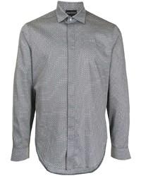Emporio Armani Classic Stretch Cotton Shirt