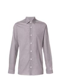 4d5079db7b2 Grey Print Dress Shirts for Men   Men's Fashion   Lookastic.com