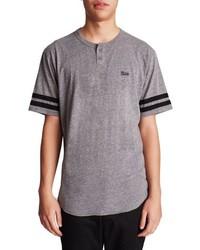 Brixton Potrero Ii Varsity Henley T Shirt