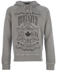 2 logo print hoodie medium 14865