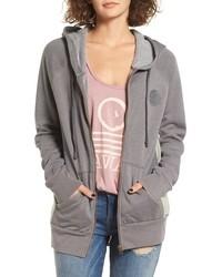 East shore graphic zip hoodie medium 834718