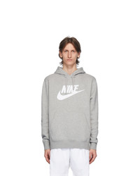Nike Grey Club Logo Hoodie