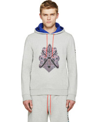 Marc by Marc Jacobs Grey Mad Mask Hoodie