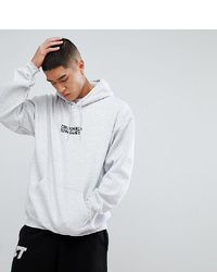 Crooked Tongues Hoodie With In Grey