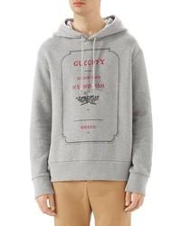 Gucci Invitation Graphic Hoodie