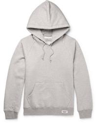 Printed loopback cotton jersey hoodie medium 3697101