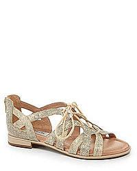 Nurture Jena Zip Back Gladiator Sandals