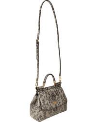 2f26c01ed23 Dolce & Gabbana Lace Print Medium Miss Sicily Bag, $1,745   Barneys ...