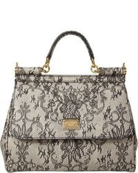 Lace print medium miss sicily bag medium 7169