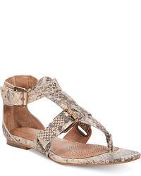 Corso Como Sangria Gladiator Flat Thong Sandals