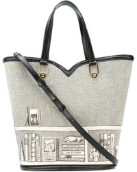 Olympia le tan printed shopper tote medium 742486