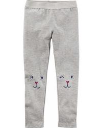Carter's Carters Leopard Knit Leggings Toddler Girls