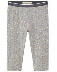 MANGO Kids Kids Printed Crop Leggings
