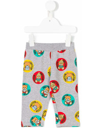 Moschino Kids Teddy Print Leggings