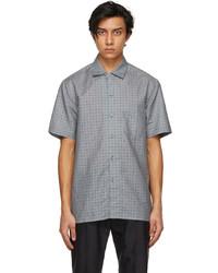 Brioni Grey Regular Short Sleeve Shirt
