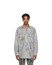 Fear Of God Grey Camo Shirt