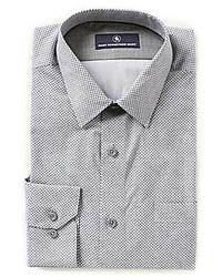 Hart Schaffner Marx Long Sleeve Circle Print Woven Shirt