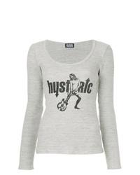 Hysteria print t shirt medium 7665453