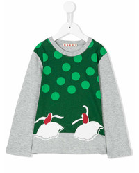 Marni Kids Graphic Print T Shirt