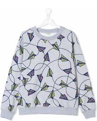 Kenzo Kids Paper Planes Print Sweatshirt