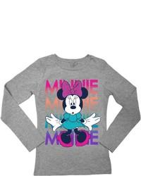 Freeze Minnie Mouse Long Sleeve Tee