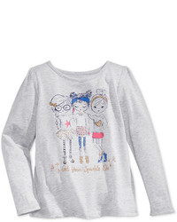 Epic Threads Mix And Match Get Your Sparkle On Graphic Long Sleeve T Shirt Toddler Little Girls Only At Macys