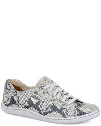 Born ilisha snake printed suede sneakers medium 26868