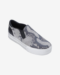 Slip on snake print sneaker medium 26869