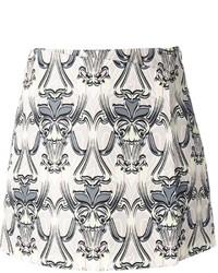 M Missoni Brocade Print Skirt