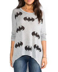 ChicNova Eight Bats Print Sweatshirt