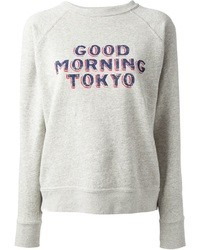 Etoile Isabel Marant Isabel Marant Toile Halen Good Morning Tokyo Printed Sweatshirt