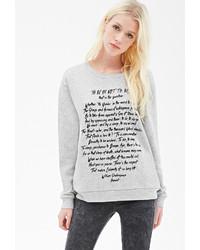 Forever 21 Hamlet Graphic Sweatshirt