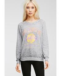 Forever 21 La Lakers Burnout Sweatshirt