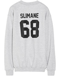 Lpd New York Team Slimane Printed Cotton Fleece Sweatshirt