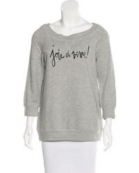 Kate Spade New York Joie De Vivre Pullover Sweatshirt