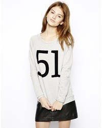 Only Rosedot 51 Sweatshirt Grey