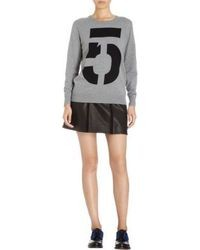 Rag and Bone Rag Bone Numbers Crewneck Sweater