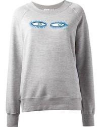 Spijkers en Spijkers Eye Print Sweatshirt