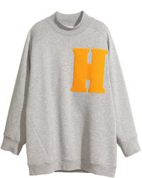 H&M Sweatshirt Gray Ladies