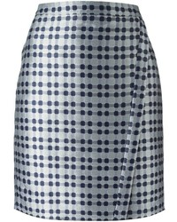 Emporio Armani Graphic Print Skirt