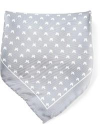 fe-fe Fef Birds Print Pocket Square Handkerchief